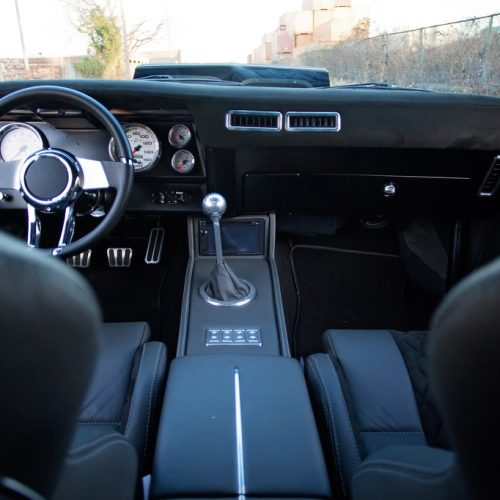 69 camaro black leather interior