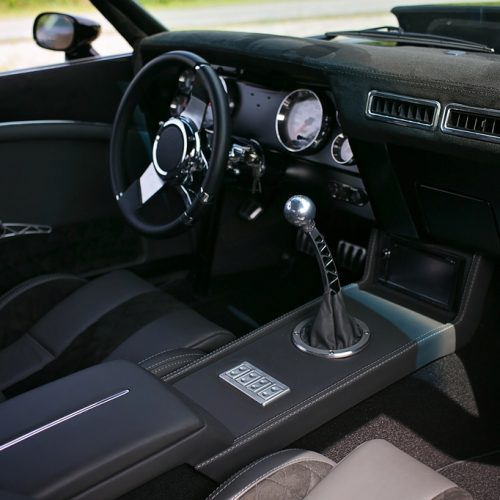 pro touring camaro leathe interior