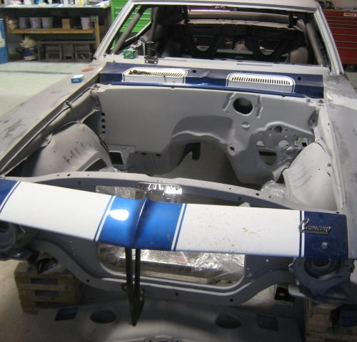 Pro Tourig Camaro During Restoration